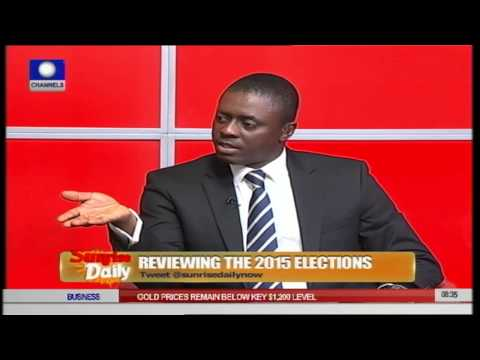 APC Member Insists Party Won Kosofe State Assembly Election 22/04/15 Part 1