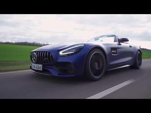 2020 Mercedes-AMG GT C Roadster – Design, Driving & Sound