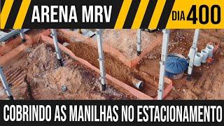 ARENA MRV   2/9 MANILHAS COBERTAS NO ESTACIONAMENTO  25/05/2021