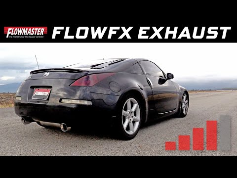 Flowmaster FlowFX Cat-back Exhaust for the 2003-2008 Nissan 350Z - Part # 717782