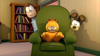 Garfield Show Po Polsku - Co się zdarzyło ciotce Ivy - Bajki Dla Dzieci Po Polsku 2015