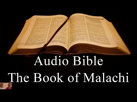 The Book of Malachi - NIV Audio Holy Bible - High Quality and Best Speed - Book 39