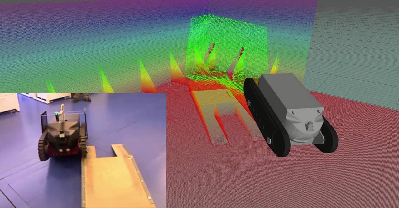 3 DoF localization system tests with the Guardian platform in Labiomep dataset
