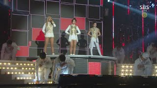 2NE1 - 'CRUSH' + 'COME BACK HOME' in 2014 SBS Gayodaejun