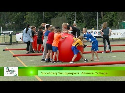 VIDEO   Introductie 'brugpiepers' Almere College Dronten afgesloten met sportdag