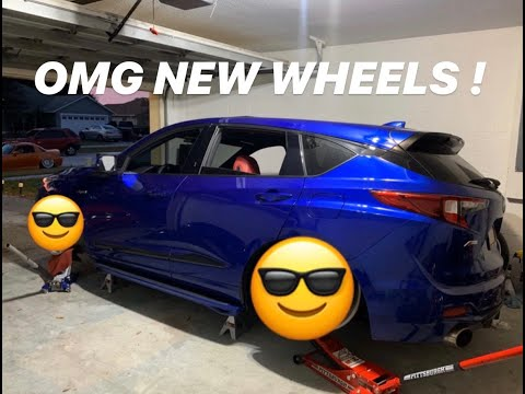 2019 BAGGED RDX A-SPEC NEW WHEELS!! TEST FIT !!