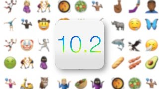 iOS 10.2 IS HERE!!! 100 NEW EMOJI and MORE!!!!
