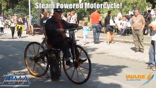 Roper's Steam Powered Motorcycle