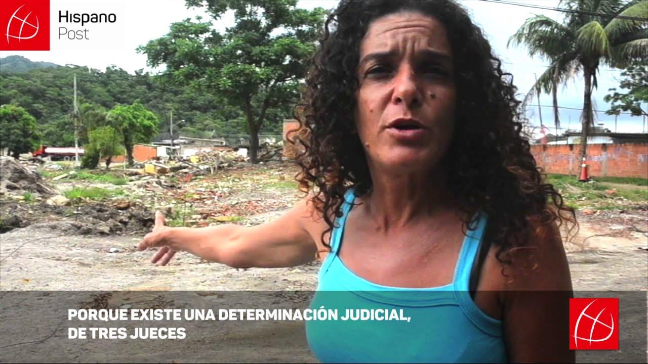 Vila Autódromo, la favela destruída por los Juegos Olímpicos de Río 2016