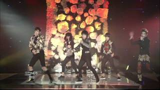 [LIVE] 120106 CHAOS (카오스) - She is coming (그녀가 온다 ) Debut Perfomance HD