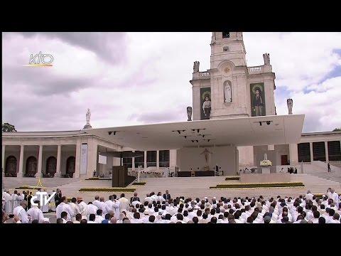 Messe célébrée par le Pape François et Canonisation de François et Jacinthe