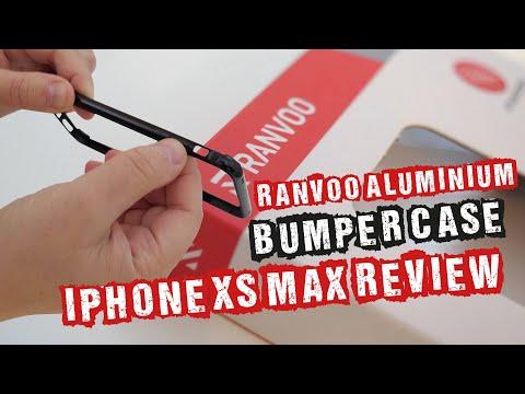Ranvoo Aluminium Bumper Case iPhone XS Max Review