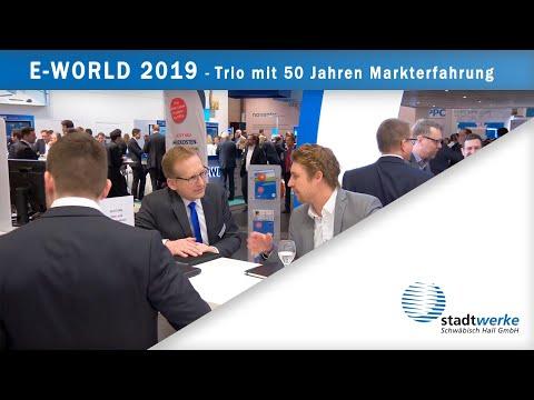 """E-world 2019 - """"Trio mit 50 Jahren Markterfahrung"""""""