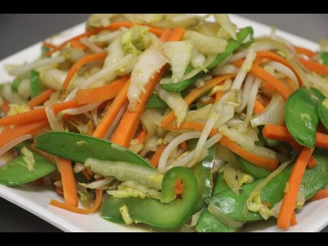How to Make Stir Fry Vegetables (Yasai Itame)