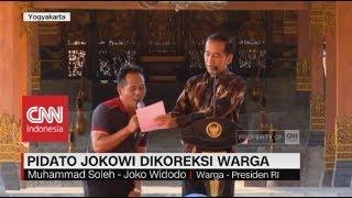 Download Video Pidato Presiden Jokowi Dikoreksi Warga MP3 3GP MP4