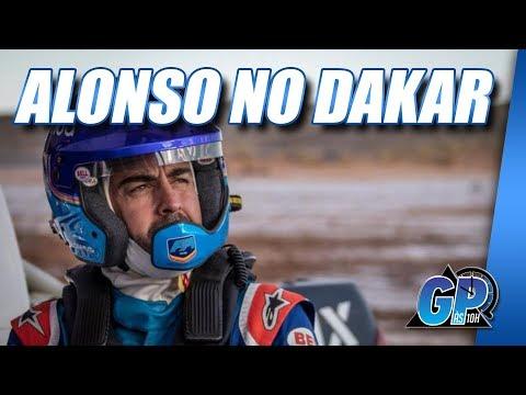 Alonso vai ao Rali Dakar por aventura empolgante na Toyota   GP às 10