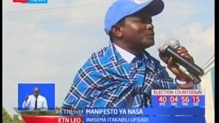 Vinara wa NASA waongoza wafuasi wao kupigia debe muungano huo Narok