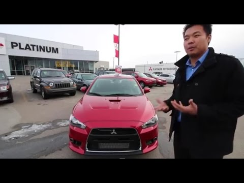2015 Mitsubishi Lancer Evolution MR - Virtual Test Drive & Review