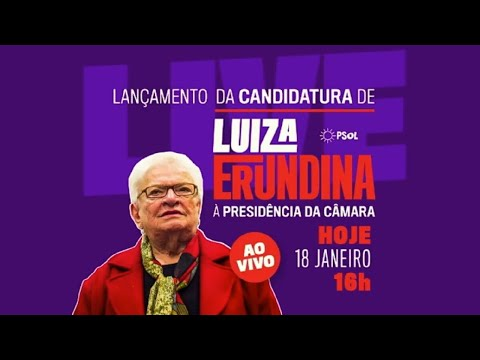 Luiza Erundina anuncia candidatura para a presidência da Câmara - 18/01/2021