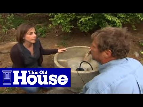 How to Install a Garden Fountain - This Old House