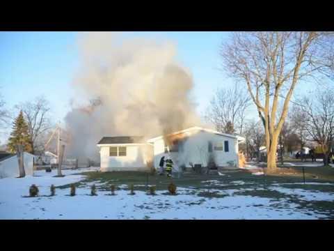 3/19/18 07:22- 22 Carolina Ave. Lockport House Fire