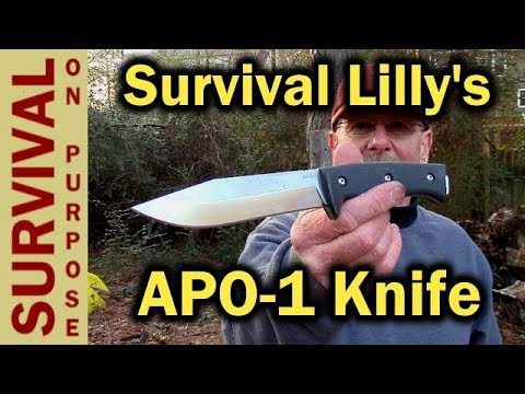 Survival Lilly Survival Knife – The APO-1 and YouTube Knife Designers