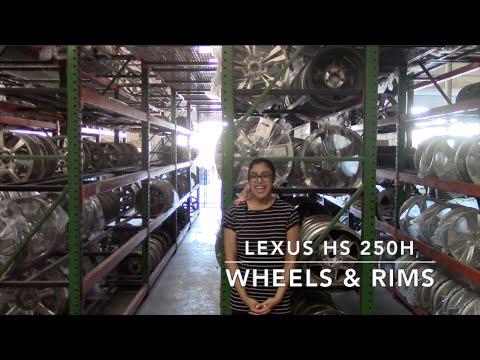Factory Original Lexus HS 250H Wheels & Lexus HS 250H Rims – OriginalWheels.com