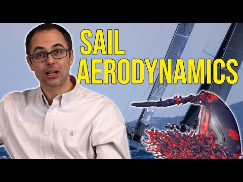 <p>The flow of air around a sail is very different to that of a wing, but both generate significant lift force. Ignazio Maria Viola at the University of Edinburgh studied sails in numerical simulations and experiments to discover the force comes from vortices that are produced at the edges of the sail. By controlling the strength and location of these vortices he hopes to be able to produce faster and more efficient sails in the future.<br />