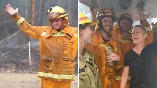 Новости пожаров Австралии - пошел дождь - но сейчас появилась угроза оползней и наводнений!