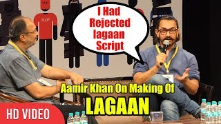 MAKING Of Lagaan | I Had Rejected Lagaan Script When Heard First Time