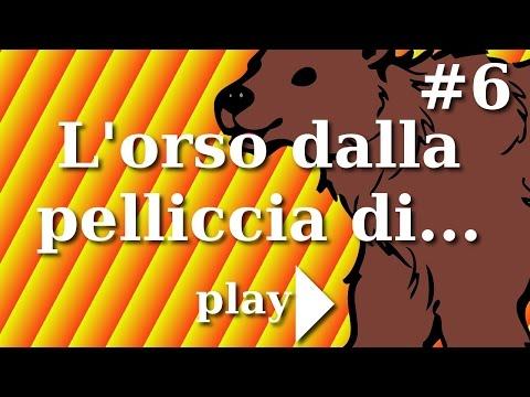 #6 L'orso dalla pelliccia di tappeto. Le favole per bambini raccontate di Daniele Castelletti.