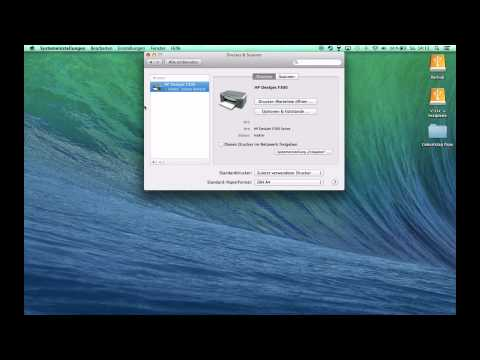 Drucker & Scanner am Mac installieren Tutorial