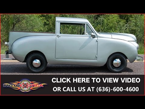 Video of Classic 1947 Crosley Pickup located in St. Louis Missouri Auction Vehicle Offered by MotoeXotica Classic Cars - JCVD
