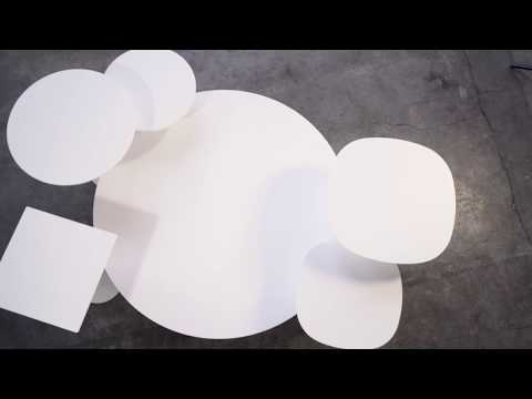 Reverse, from a sculptural form to a smart table system
