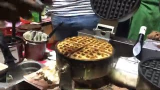 Waffle recipe | indian street food