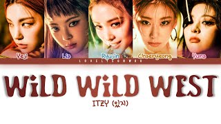 ITZY (있지) – Wild Wild West Lyrics (Color Coded Han/Rom/Eng)