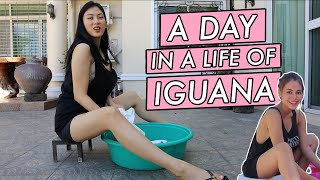 Iguana meets Ivana by Alex Gonzaga