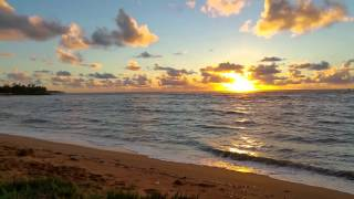Pono Kai Resort, Kauai  Sunrise