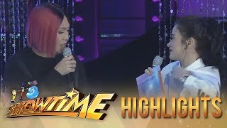 Vice Ganda notices how short Bela Padilla's clothes are.  Subscribe to ABS-CBN Entertainment channel! - http://bit.ly/ABS-CBNEntertainment  Watch the full episodes of It's Showtime on TFC.TV   http://bit.ly/ItsShowtime-TFCTV and on IWANT.TV for Philippine viewers, click:  http://bit.ly/SHOWTIME-IWANTv  Visit our official website!  http://entertainment.abs-cbn.com/tv/shows/itsshowtime/main http://www.push.com.ph  Facebook: http://www.facebook.com/ABSCBNnetwork  Twitter:  https://twitter.com/ABSCBN https://twitter.com/abscbndotcom Instagram: http://instagram.com/abscbnonline