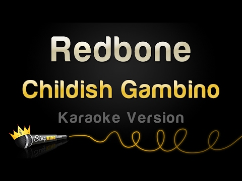 Childish Gambino - Redbone (Karaoke Version)