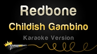 Childish Gambino   Redbone (Karaoke Version)