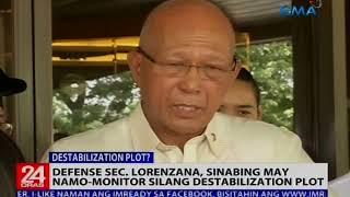 Sen. Trillanes, itinanggi ang alegasyong pinaplano niyang patalsikin sa puwesto si Pres. Duterte