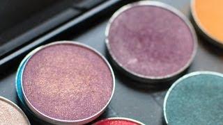 MAC ( Eyeshadows) VS Makeup Geek ( Eyeshadows) { Dupes}