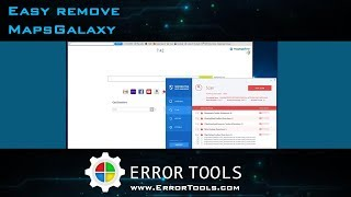 Remove MapsGalaxy from your Windows PC