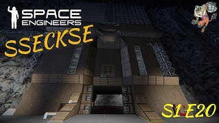 Space Engineers -- SSECKSE WoodWork  -- S1E20