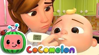 Видеоклип Sick Song | CoComelon Nursery Rhymes & Kids Songs