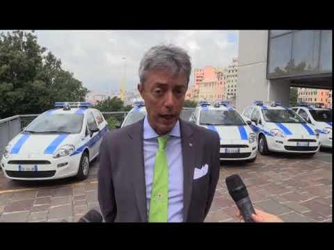 GENOVA: NUOVE AUTOVETTURE PER LA POLIZIA LOCALE