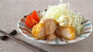 How to Make Ebi Katsu (Prawn/Shrimp Cutlet) Recipe プリプリえびカツの作り方 (レシピ)