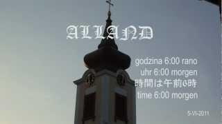 preview picture of video 'Alland 6:00 ( Dzwony) / Österreich ( Austria )'