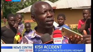 Two people die after being hit by matatu that lost control in Kisii
